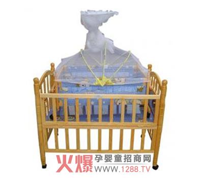 婴儿木床的设计图纸