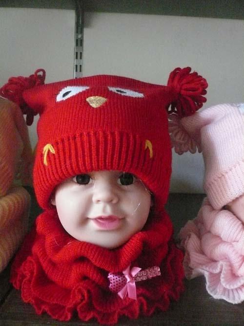 美啦美啦可爱儿童帽子