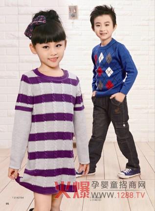 班吉鹿品牌童装 演绎出少年儿童的可爱与勇敢