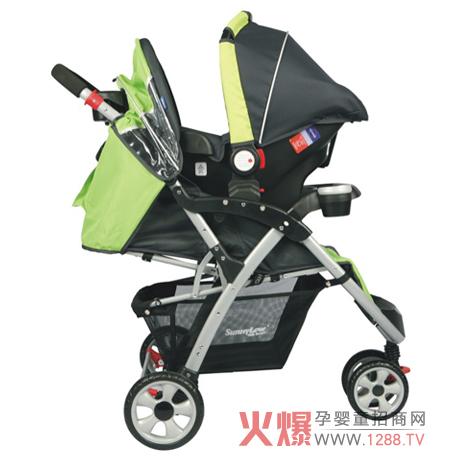 阳光儿童手推车 让宝宝更安全