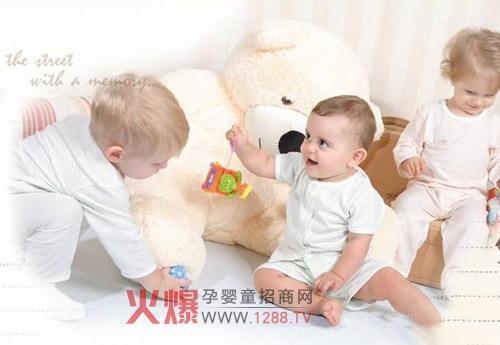 """雅培婴童服装品牌本着""""可爱,雅致,舒适""""的设计理念,融合清爽亮丽色彩"""