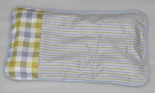 良木方格条纹枕头