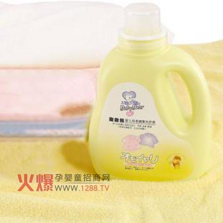 婴儿/抱抱熊婴儿倍柔健康洗衣液专门针对婴儿衣物而设计,采用天然...