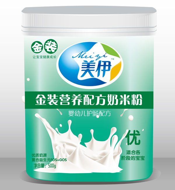 美伊500克奶米粉优装 南昌日健食品有限公司-