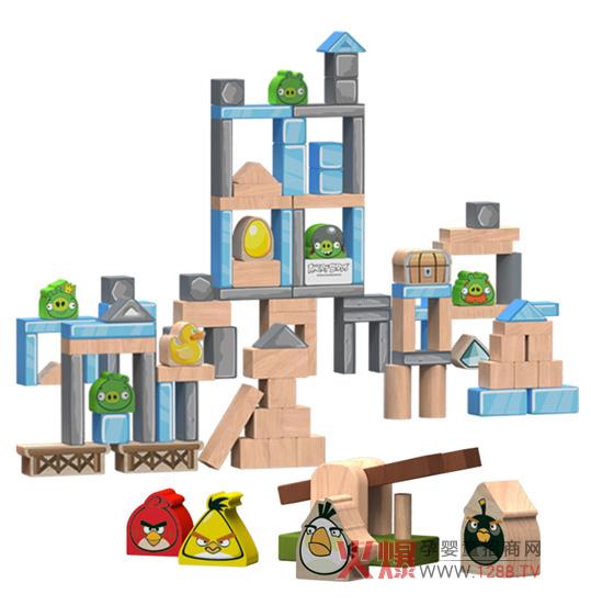 积木 小动物的房子
