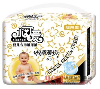 小可爱纸尿裤 宝宝轻松生活的选择