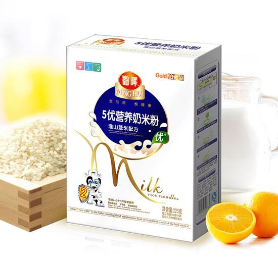 铭晖5优淮山薏米奶米粉好消化不上火_婴儿米