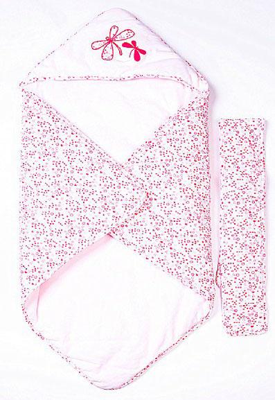 母之恋蜻蜓baby婴儿棉包被