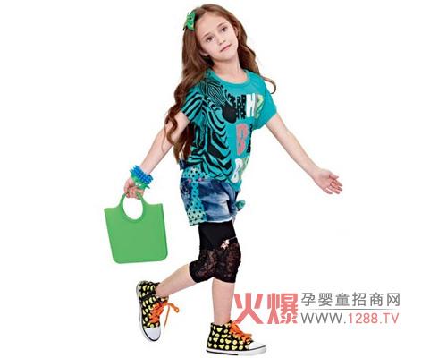 黑白熊品牌童装 引领儿童时尚潮流