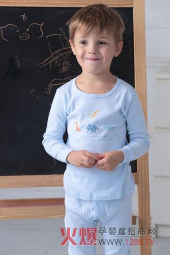 开辟了中国儿童内衣的新局面