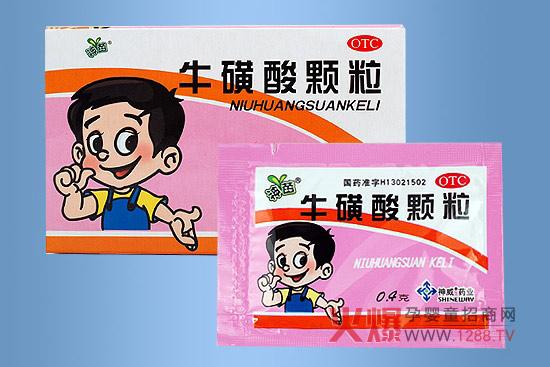 小儿牛磺酸颗粒_可用山腊梅叶或牛磺酸颗粒