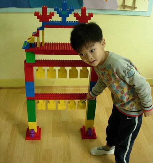 乐高房子积木玩具