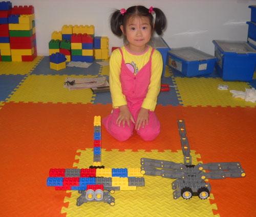 乐高蜻蜓积木玩具