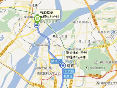 南京桥北汽车客运站地图