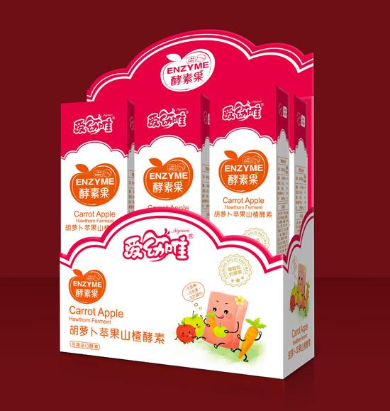 爱幼唯胡萝卜苹果山楂酵素果