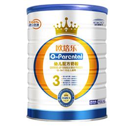 欧培乐幼儿配方奶粉罐代理