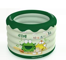 绿豆蛙充气圆形游泳池招商加盟