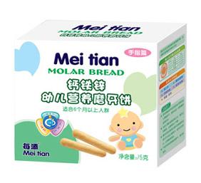 每添钙铁锌幼儿营养磨牙饼