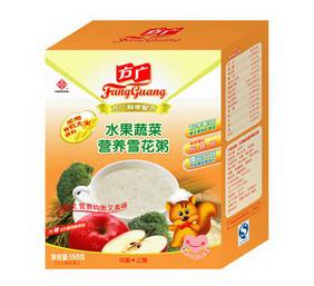 方广水果蔬菜营养雪花粥