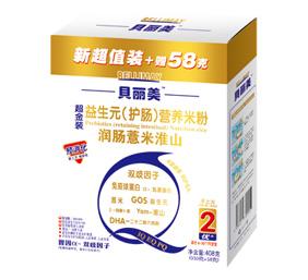 贝丽美益生元薏米淮山营养米粉