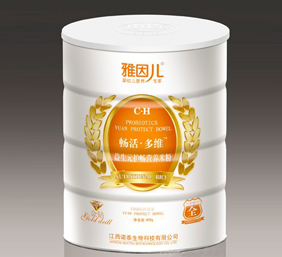 雅因儿畅活益生元护肠营养米粉