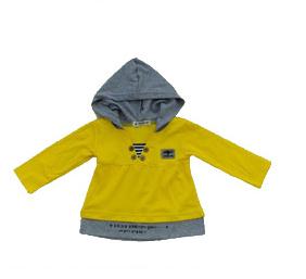 小帅兔童装黄色V领火爆加盟