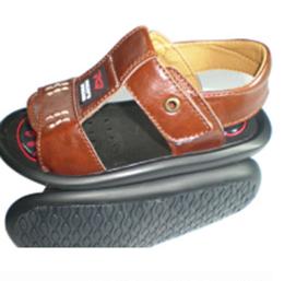 迪猫之梦棕色婴儿皮鞋招商