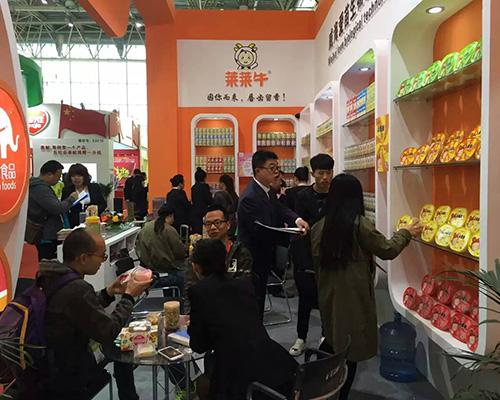 好产品就是如此受欢迎 爱苗公司京正北京展火爆了