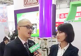 专访直播--力维康奶粉京正婴童展会现场