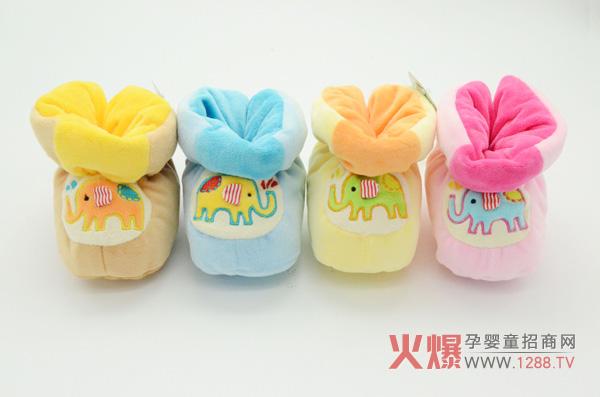 爱婴童宝宝长筒鞋 减低宝宝摔跤几率