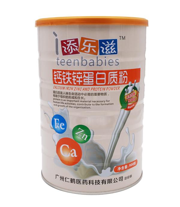 首页 广州仁鹤医药科技有限公司 >> 添乐滋钙铁锌硒蛋白质粉