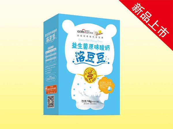 迪米熊原味鲈鱼溶豆中国最大的攀酸奶图片