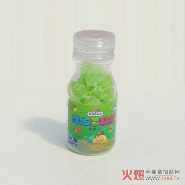 海底小纵队维生素软糖的作用