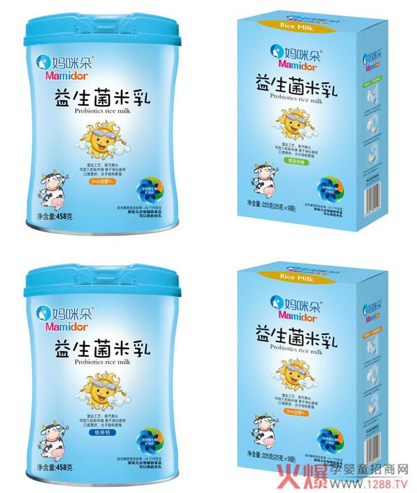 妈咪朵益生菌米乳 帮助宝宝调节肠道健康