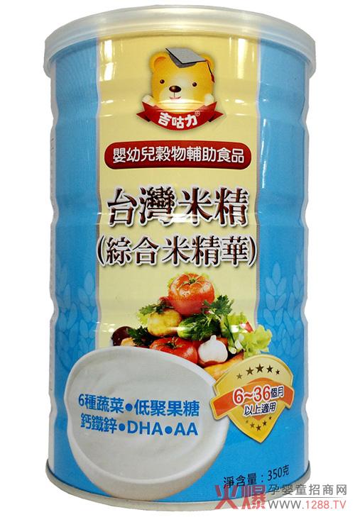 台湾吉咕力米麦精华 好吃易消化还补营养