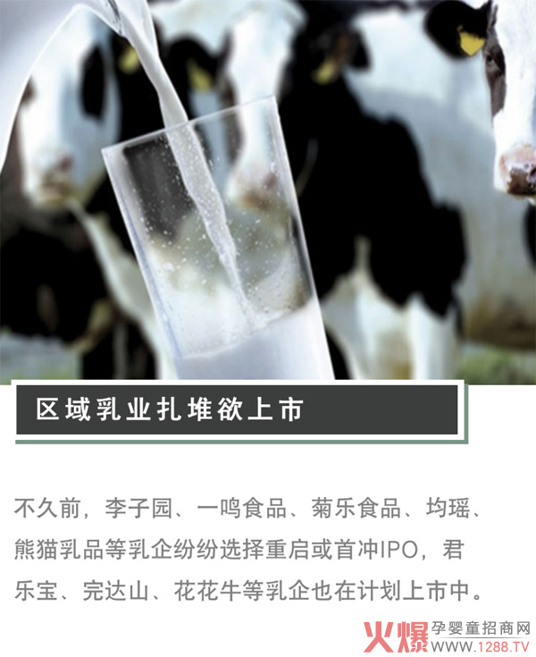 区域乳业扎堆上市背后,生存困难还是寻求发展?
