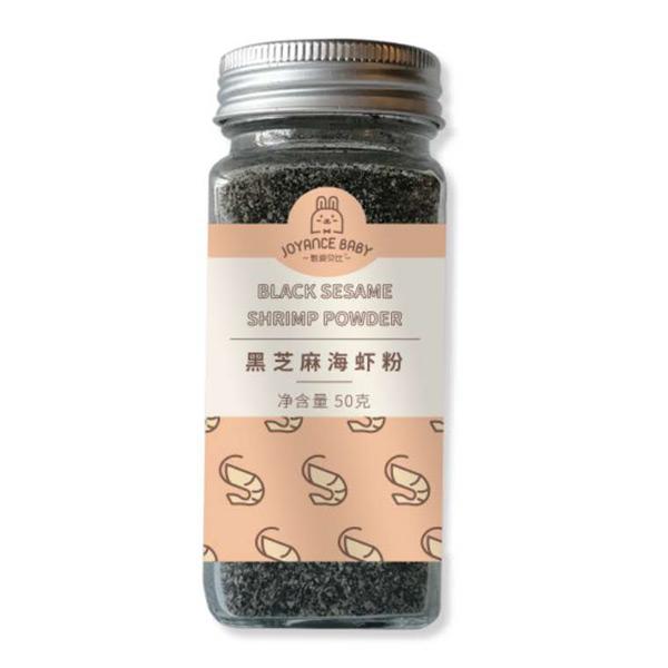 甄爱贝比黑芝麻海虾粉