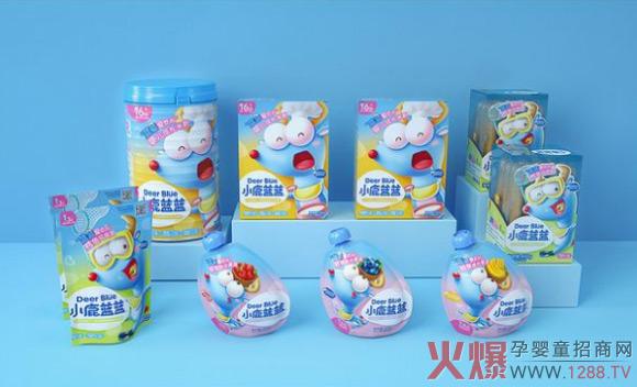 """三只松鼠子品牌小鹿蓝蓝出圈,从宝宝""""零辅食""""开始"""