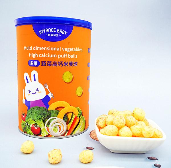 甄爱贝比多维蔬菜高钙米芙球