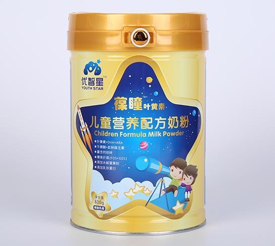 优智星儿童配方奶粉 致力于儿童膳食的营养补充