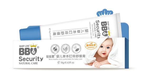 娃娃爱婴儿草本护理舒缓膏 温柔呵护娇嫩肌肤