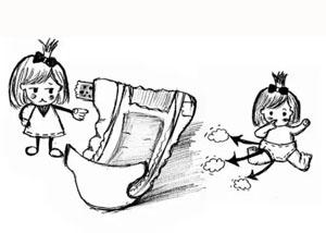 纸尿裤选得好 宝宝满地跑!