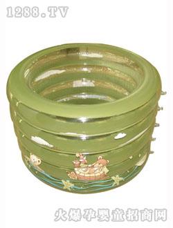 绿豆蛙充气圆形游泳池怎么样