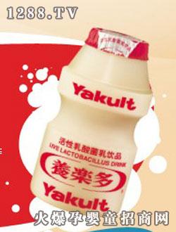 养乐多鲜牛奶