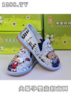 1月12日上海童装展 -布贝贝小熊松紧鞋 吉林省长岭县布贝贝童鞋厂北图片