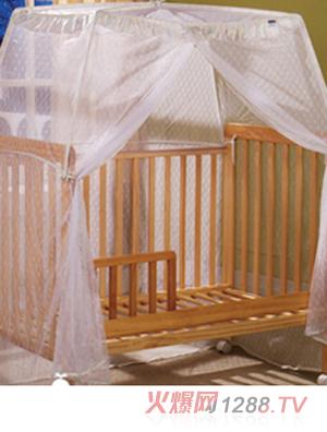 贴心设计出 可随意移动,体积小,轻巧便携以及安装,拆卸简便的蚊帐.