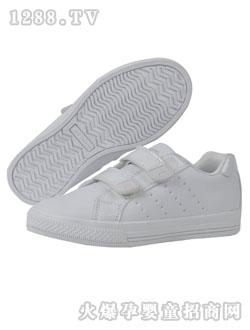 白色 运动/江博士白色小童运动休闲鞋