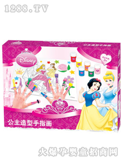 >> 迪士尼卡通造型diy手绘画   【招商厂家】: 中山市壹百分儿童产品