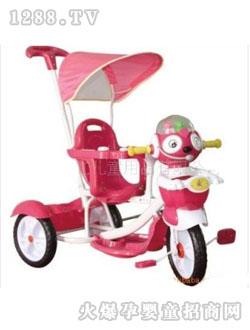 康龙 康虹/康龙红色卡通婴儿三轮车