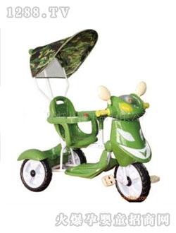 康龙/康龙绿色婴儿三轮车